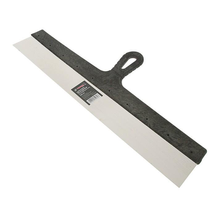 Шпатель фасадный TUNDRA Basic, 600 мм, нержавеющая сталь, ручка пластик