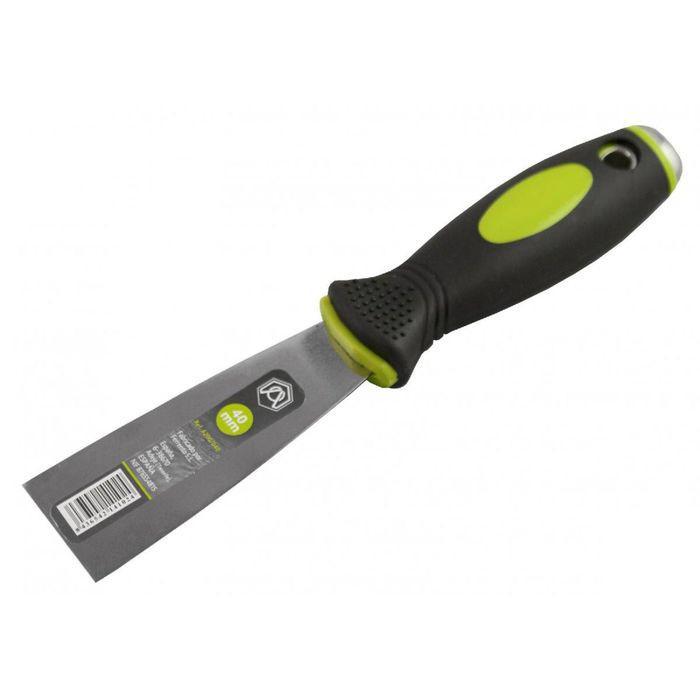 Шпатель малярный ARMERO, 40 мм, нержавеющая сталь, двухкомпонентная ручка, молоток