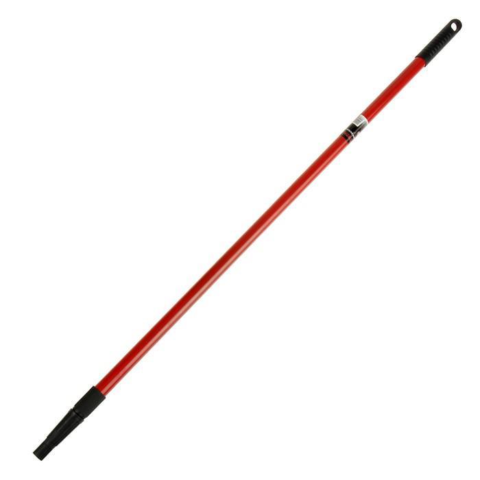 Ручка для валиков TUNDRA basic, телескопическая, металлическая 1,0 - 2,0 м