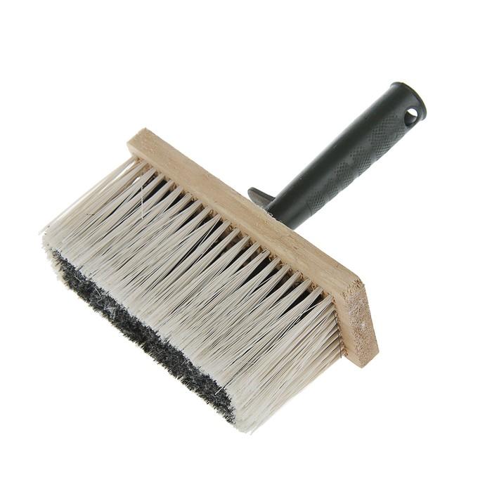 Кисть макловица TUNDRA basic, искусственная щетина, деревянный корпус 70 х 170 мм
