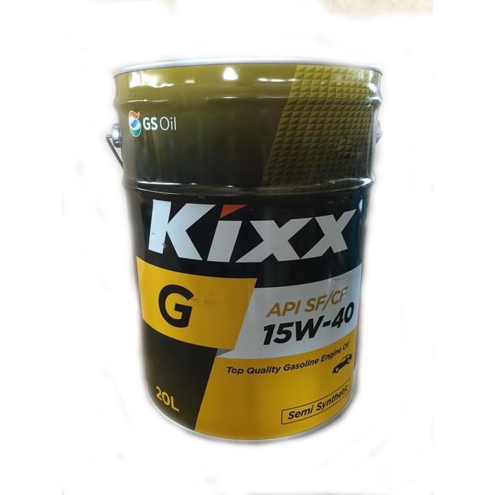 Масло моторное  Kixx G SF/CF 15W-40 Gold, 20 л
