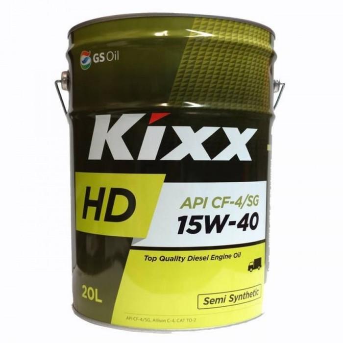 Масло моторное  Kixx HD CF-4 15W-40 Dynamic, 20 л