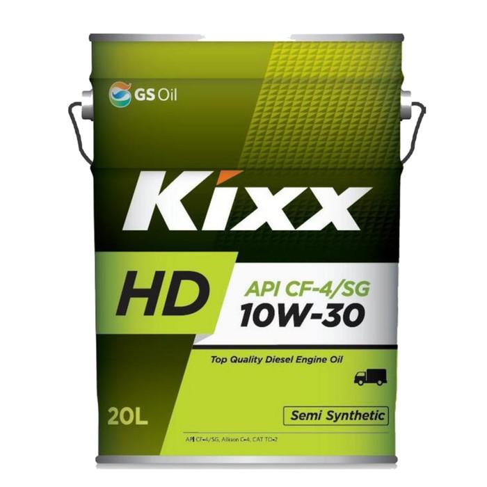 Масло моторное  Kixx HD CF-4 10W-30 Dynamic, 20 л