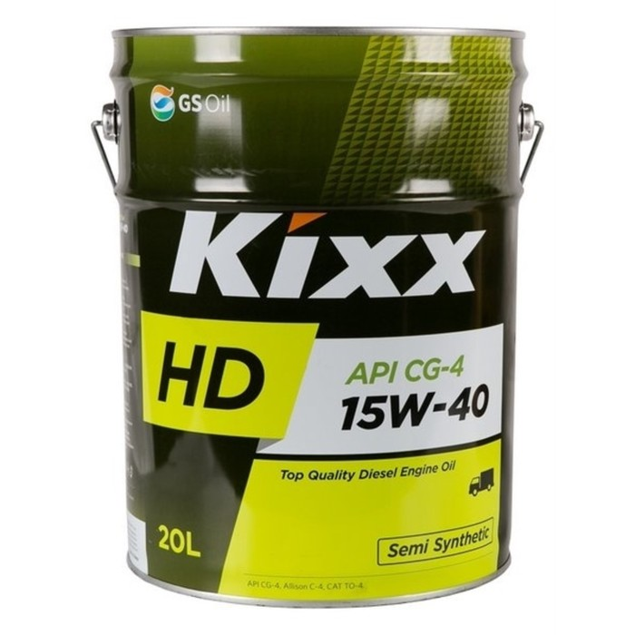 Масло моторное  Kixx HD CG-4 15W-40 Dynamic, 20 л