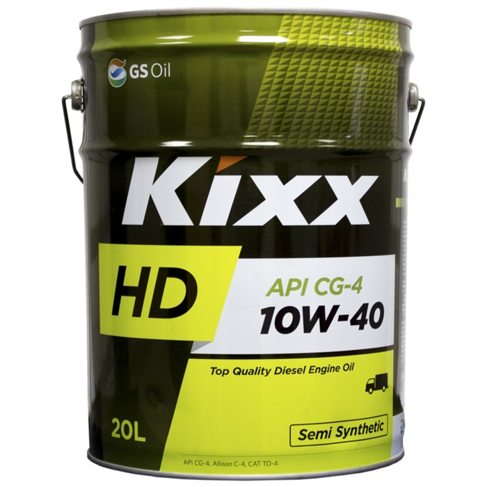 Масло моторное  Kixx HD CG-4 10W-40 Dynamic, 20 л