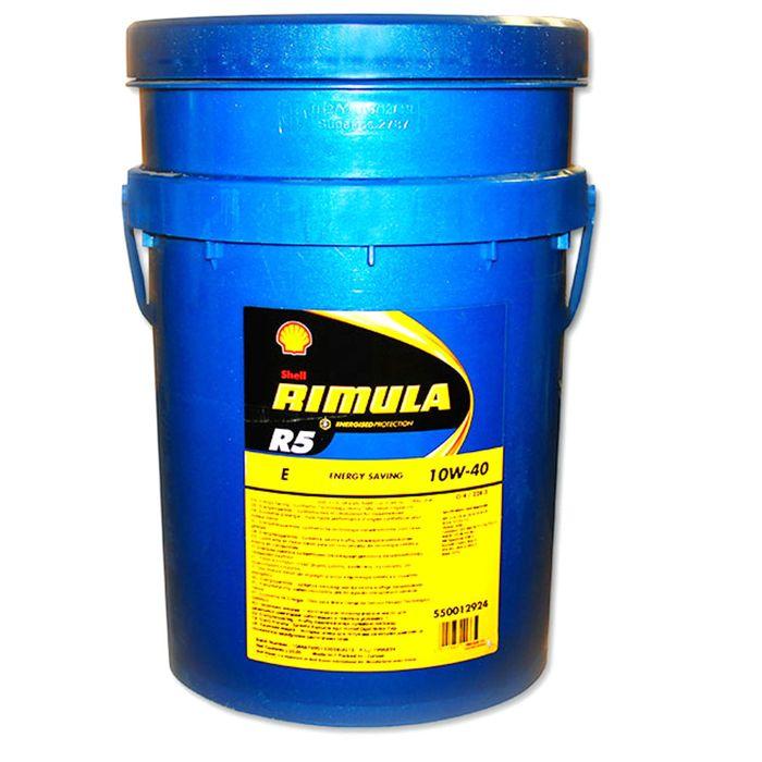 Масло моторное Shell Helix RIMULA R5 E 10W-40, 20 л