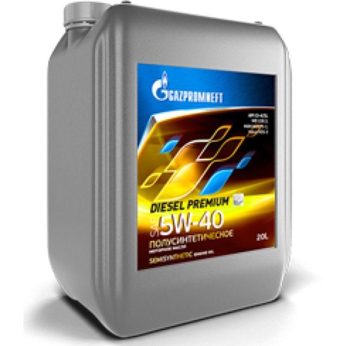 Масло моторное Gazpromneft Diesel Premium 5W-40, 20 л