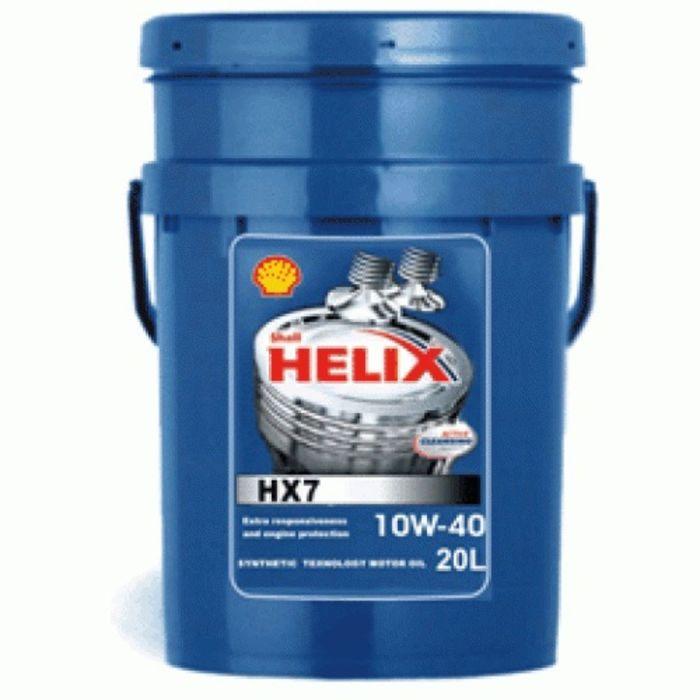 Масло моторное Shell Helix HX7 A3/B4 10W-40, 20 л