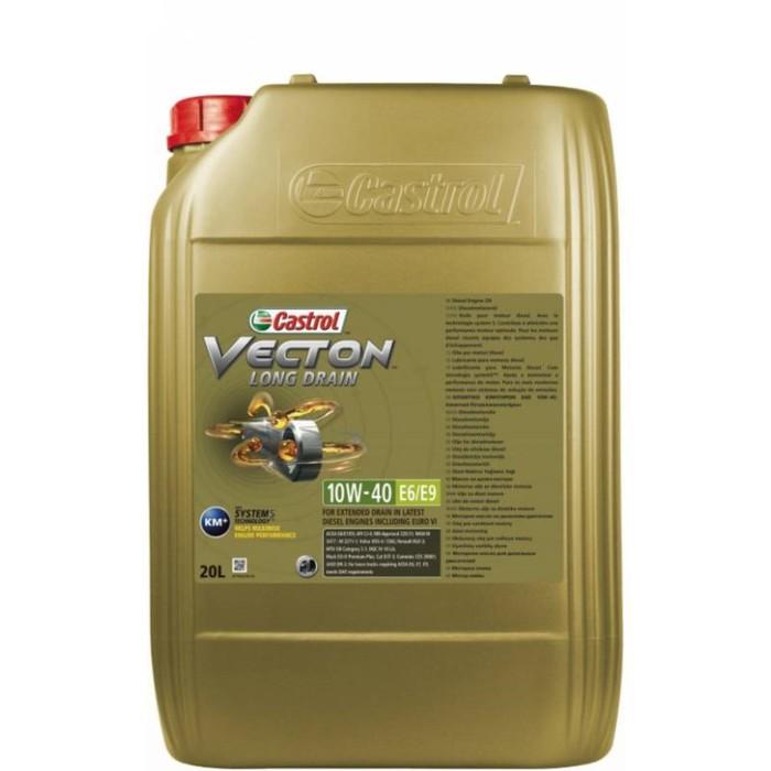 Масло моторное Castrol Vecton Long Drain 10W-40 E6/E9, 20 л