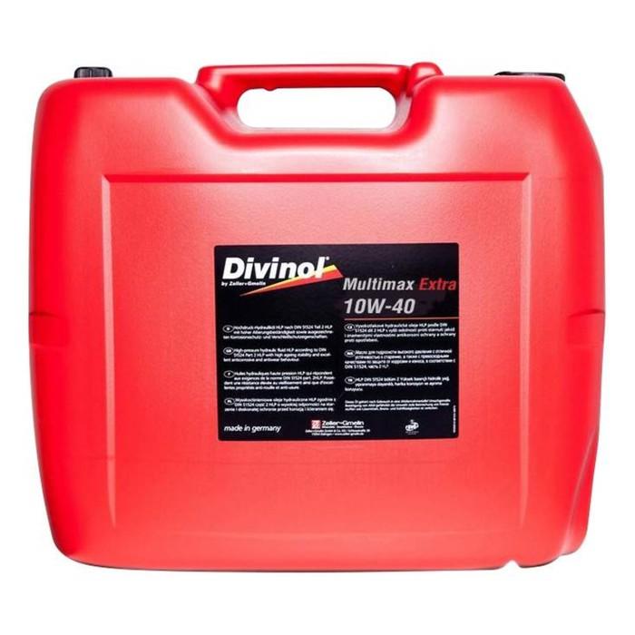 Масло моторное DIVINOL Multimax Extra 10w-40, 20 л