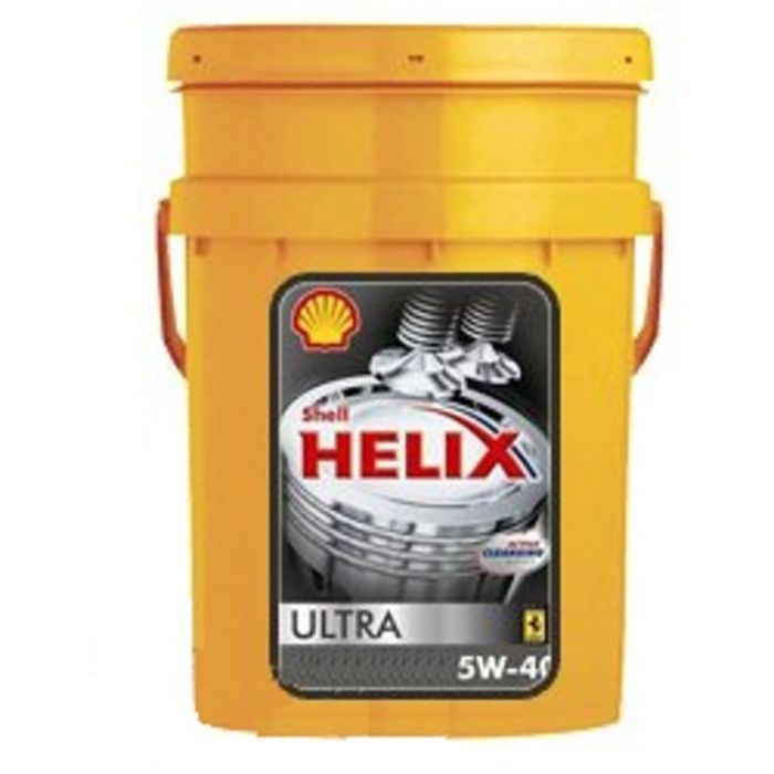 Масло моторное Shell Helix ULTRA 5W-40, 20 л