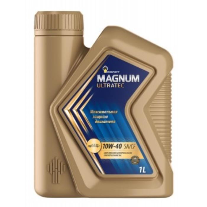 Масло моторное Rosneft Magnum Ultratec 10W-40, 1 л синт