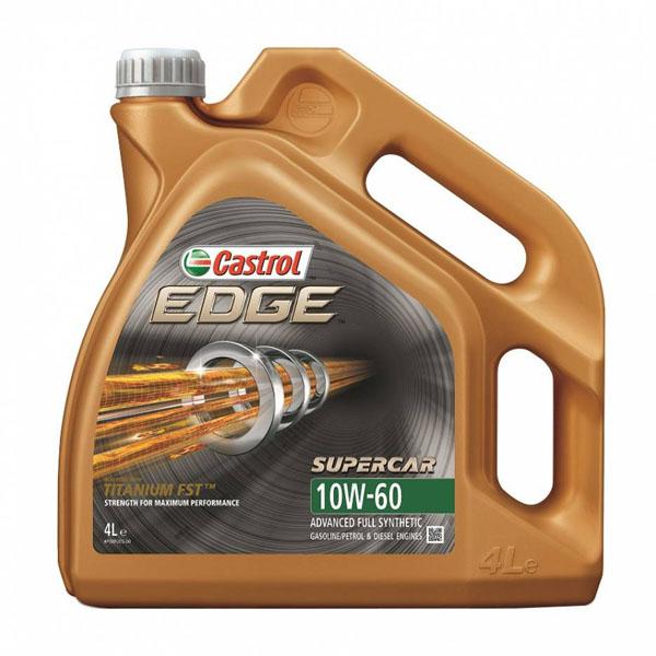 Моторное масло Castrol EDGE Supercar 10W-60 4 литра