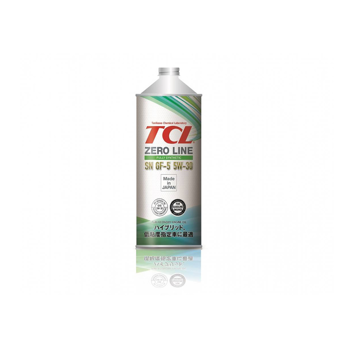 Моторное масло TCL Zero Line Fully Synth, Fuel Economy, SN/GF-5, 5W-30, 1л