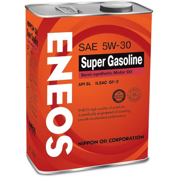 Масло моторное ENEOS SL 5W-30 полусинт., 4 л