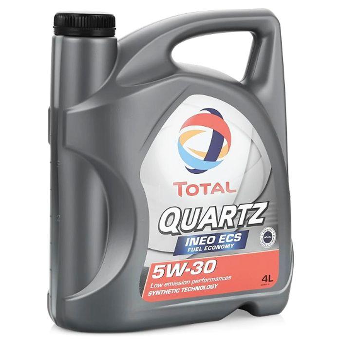 Масло моторное Total Quartz INEO ECS 5W-30, 4 л