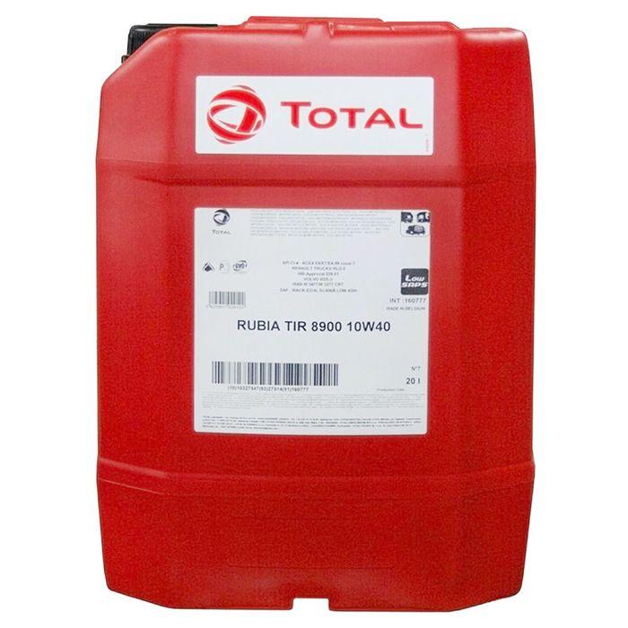 Масло моторное Total RUBIA TIR 8900 10W-40, 20 л