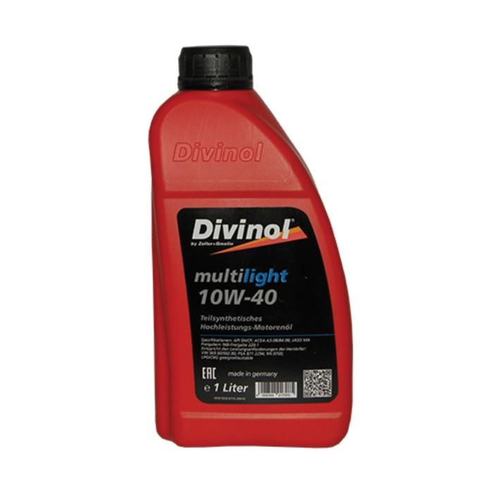 Масло моторное DIVINOL Multilight 10w-40, 1 л