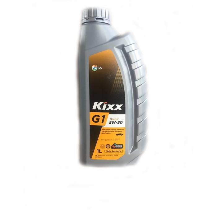 Масло моторное Kixx G1 Dexos1 5W-30 SN Plus GF-5, 1 л