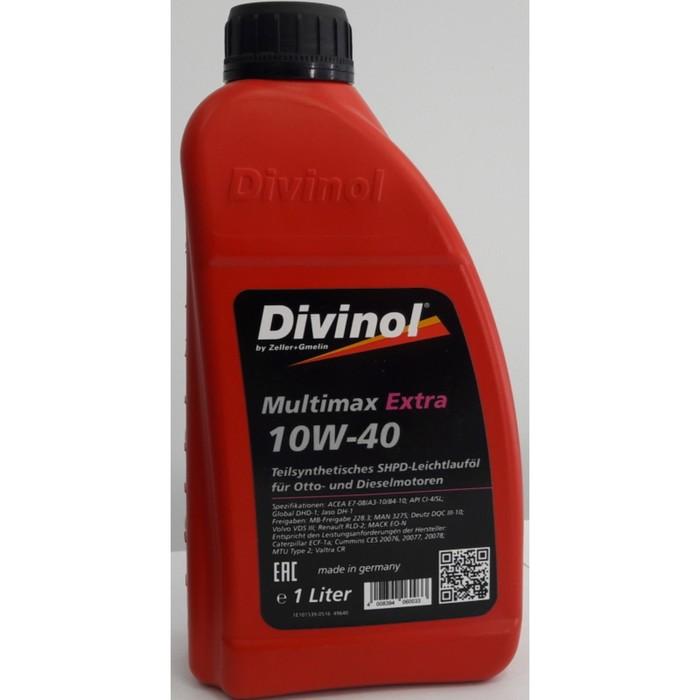 Масло моторное DIVINOL Multimax Extra 10w-40, 1 л