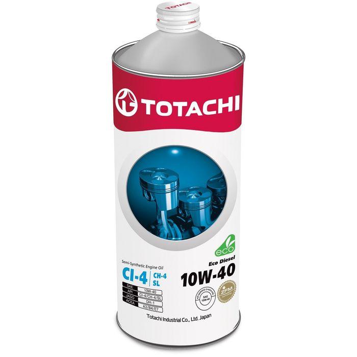Масло моторное  Totachi Eco Diesel Semi-Synthetic SL 10W-40, 1 л