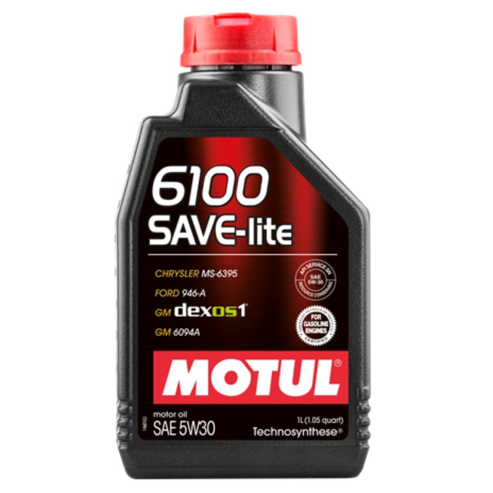 Масло моторное Motul 6100 SAVE-LITE 5W30, 1 л