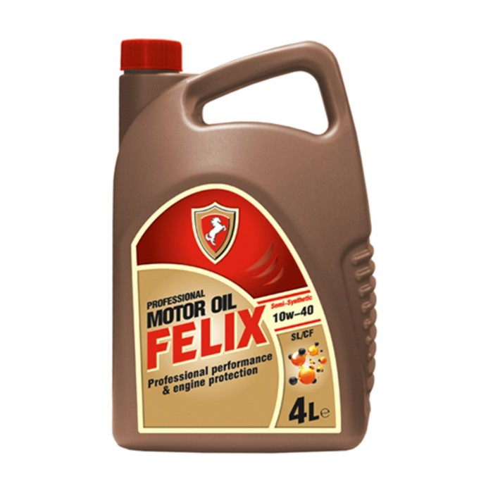 Моторное масло Felix Semi SL/CF 10W-40, 4л