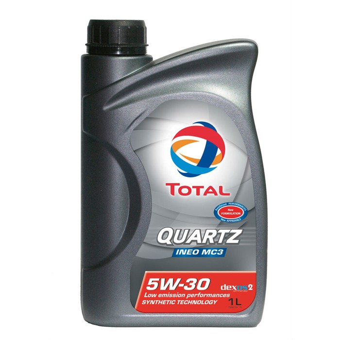 Масло моторное Total Quartz INEO MC3 5W-30, 1 л