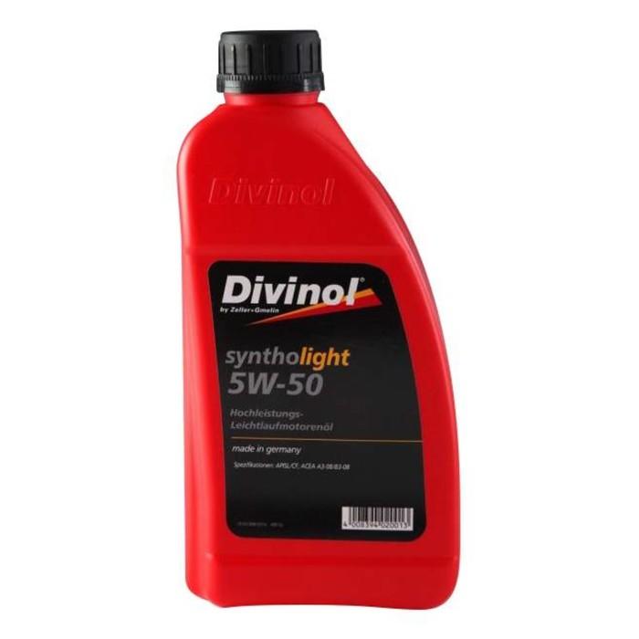Масло моторное DIVINOL Syntholight 5w-50, 1 л