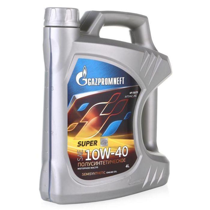 Масло моторное Gazpromneft Super 10W-40, 4 л