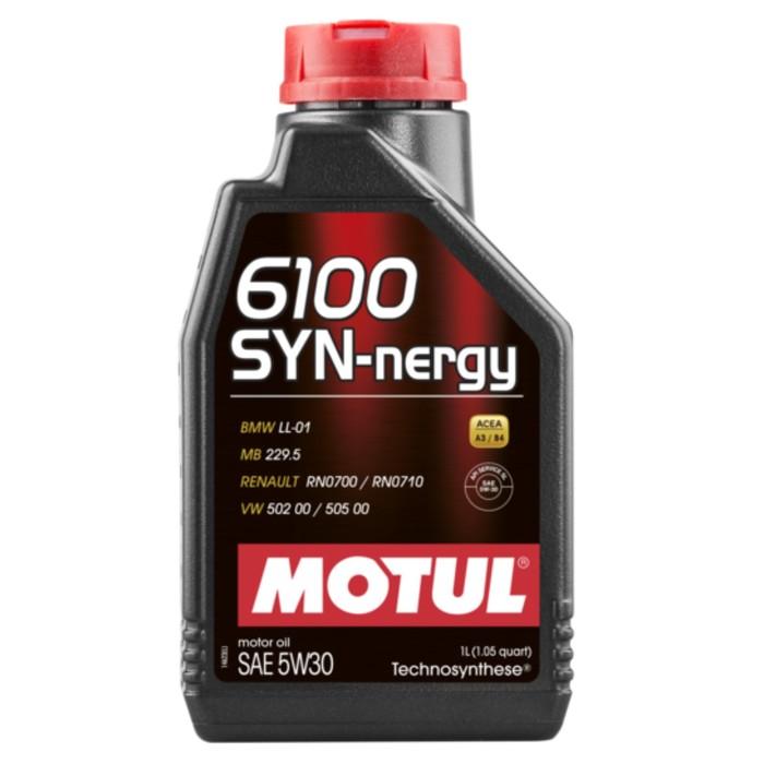 Масло моторное Motul 6100 SYN-NERGY 5W30, 1 л