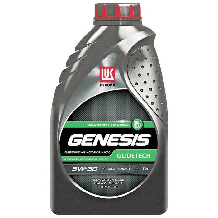 Масло моторное Лукойл Genesis Glidetech 5W-30, 1 л