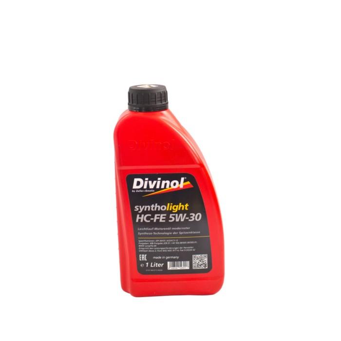 Масло моторное DIVINOL Syntholight HC-FE 5w-30, 1 л