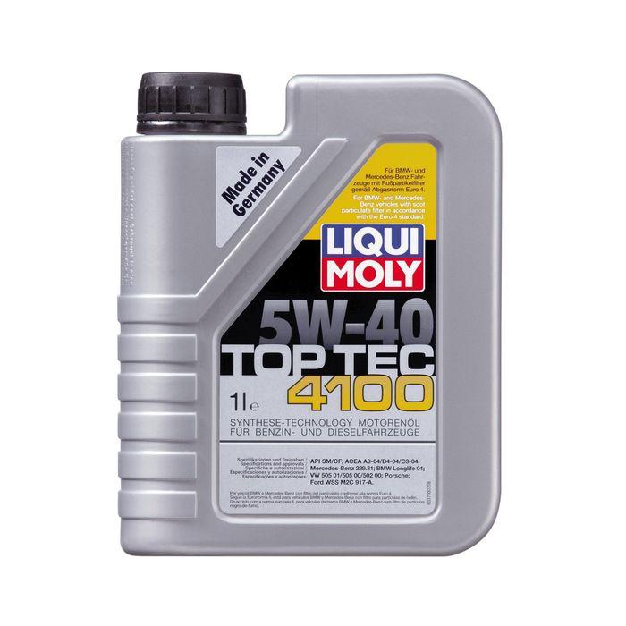 Масло моторное  Liqui Moly Top Tec 4100 5W-40, 1 л