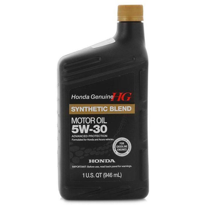 Масло моторное Honda 5W-30 Synthetic Blend, 08798-9034, 946 мл