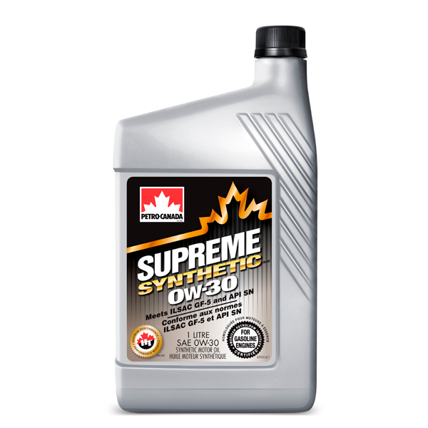 Моторное масло Petro-Canada Supreme Synthetic 0W-30 1 л