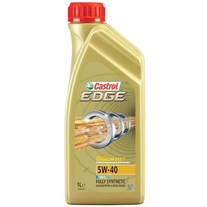 Масло моторное Castrol EDGE Titanium 5W-40, 1 л