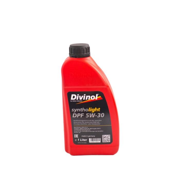 Масло моторное  DIVINOL Syntholight DPF 5W-30, 1 л
