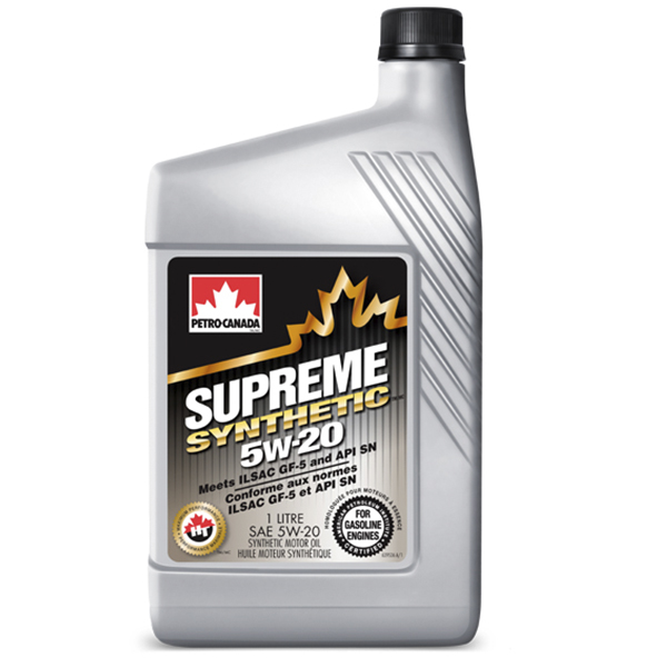 Моторное масло Petro-Canada Supreme Synthetic 5W-20 1 л