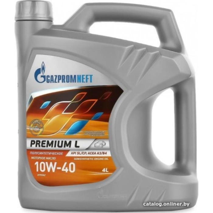 Масло моторное Gazpromneft Premium L 10W-40, 4 л