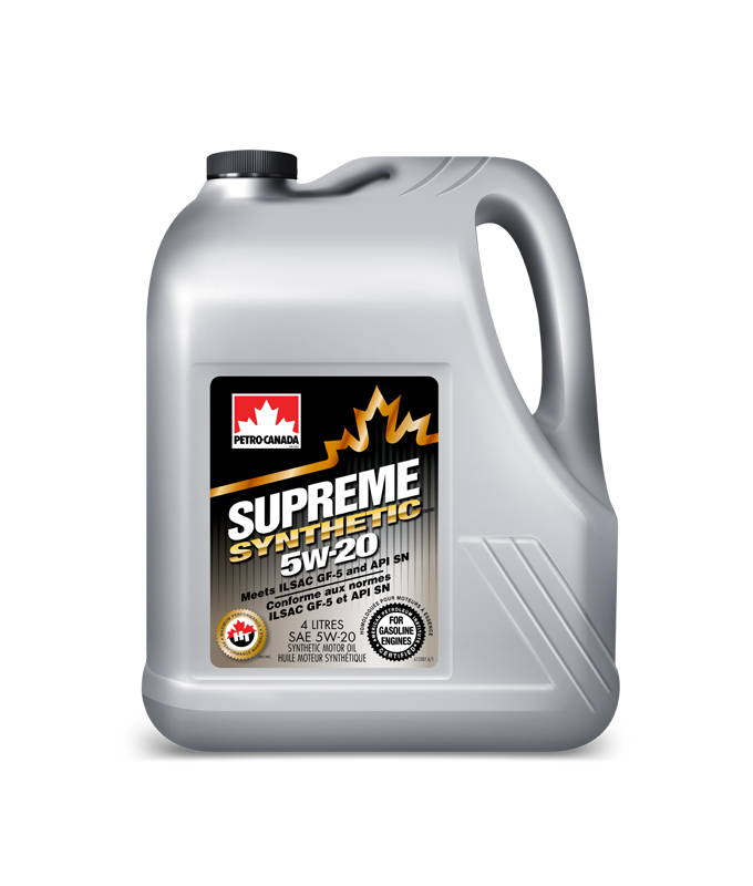 Моторное масло Petro-Canada Supreme Synthetic 5W-20 4 л