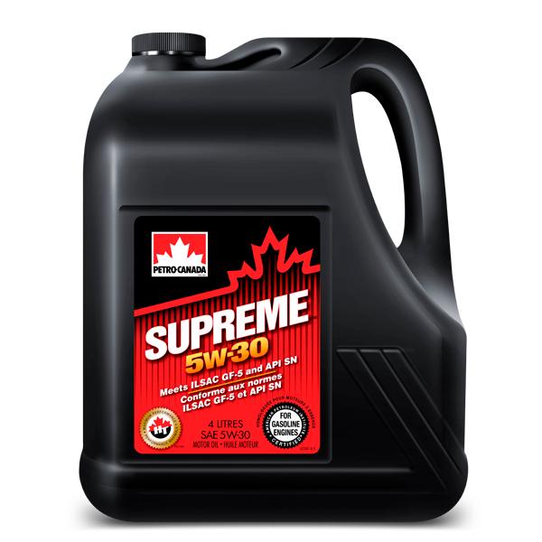 Моторное масло Petro-Canada Supreme 5W-30 4 л