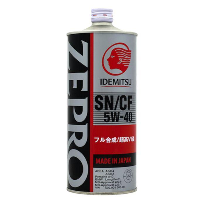Масло моторное Idemitsu Zepro Euro Spec 5W-40 SN/CF, 1 л