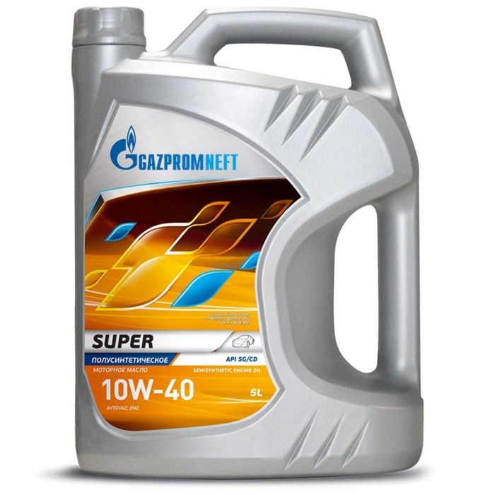 Масло моторное Gazpromneft Super 10W-40, 5 л