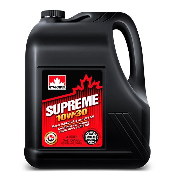 Моторное масло Petro-Canada Supreme 10W-30 4 л