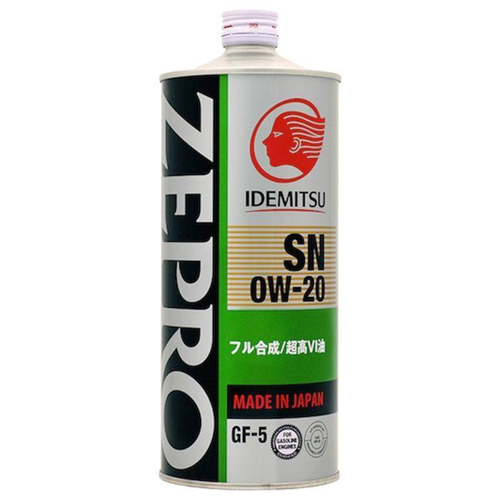 Масло моторное Idemitsu Zepro Eco Medalist 0W-20 SN/GF-5, 1 л