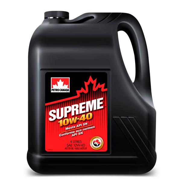 Моторное масло Petro-Canada Supreme 10W-40 4 л