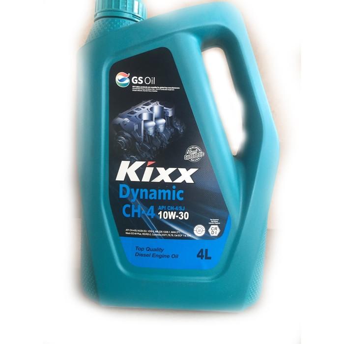 Масло моторное  Kixx HD CH-4 10W-30 Dynamic, 4 л