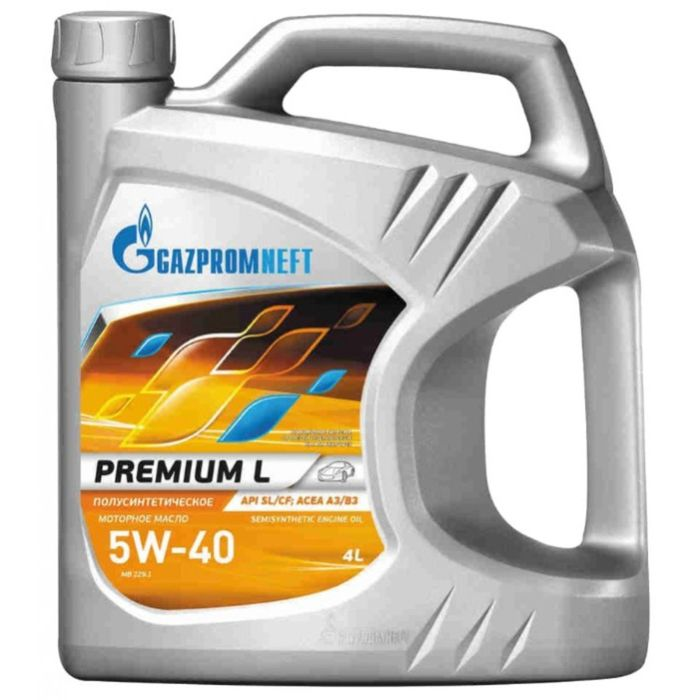 Масло моторное Gazpromneft Premium L 5W-40, 4 л