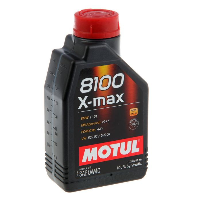 Масло моторное Motul 8100 X-max 0w-40, 1 л